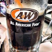 A&W 見つけたら即入店!