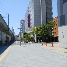 福井駅西口から見える
