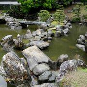 石がすごい 寄っていい庭園  徳島市立徳島城博物館に入場すれば無料