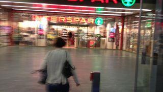 ミッテではないです。中央駅のスパーです