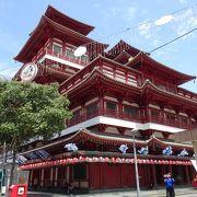 変わった外観の寺院