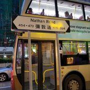 香港を代表する大通り