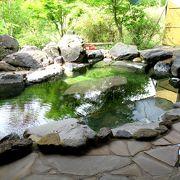 酸性の成分が高い温泉です 露天・内湯が選べる