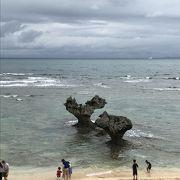 ハートロックで有名!海の美しさは天気次第。今回はちょっと残念だった。