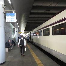 大田駅のホーム