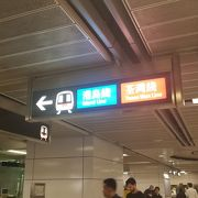 香港の交通の大動脈