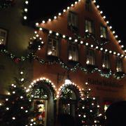 幻想的なクリスマス市
