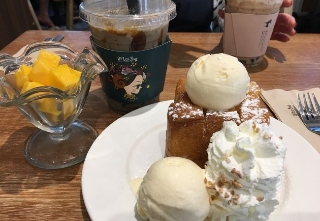 トンローの人気カフェ