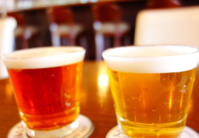 ナギサビールを堪能