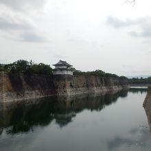 大阪城のビューポイントの一つです