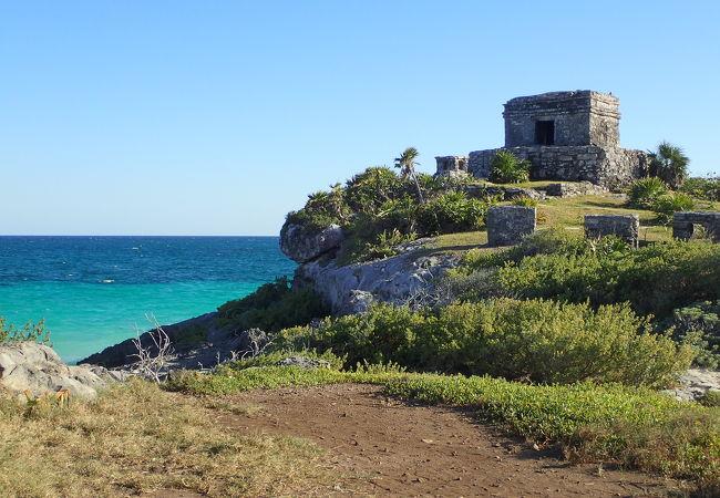 遺跡とカリブ海