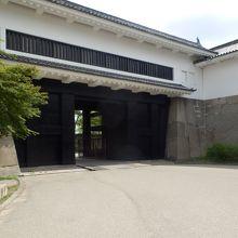 大阪城多聞櫓(渡櫓になっている)