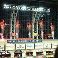 勝利の瞬間花火と機関車で大歓喜!! 野球以外でも楽しめる球場