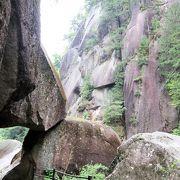 昇仙峡の見所の一つ