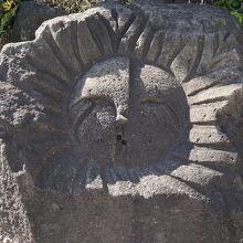 この石は伊豆七島の一つ新島で産出された石