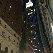ニューヨークの夜景を一望