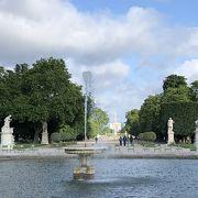パリの中心地にある公園