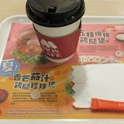 食後のコーヒーを頂きました。