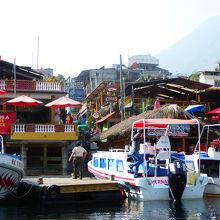 サンペドロの船着き場