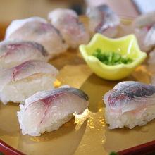北川名物 アジ寿司がおいしい!