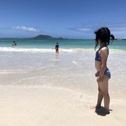 人気のビーチ