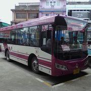 市内への移動は「CR Bus」が安い!