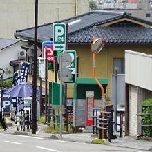 石川県兼六駐車場