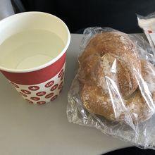 うっすら甘いパン