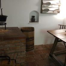 設立当時のキッチン