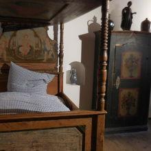 設立当時のベッドルーム