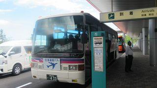 釧路市内と釧路空港を結ぶリムジンバス