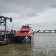 香港とマカオを1時間で結ぶ高速船