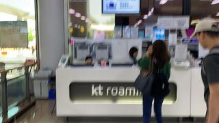 kt ローミングセンター (金浦国際空港)
