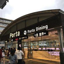 京都駅の地下街