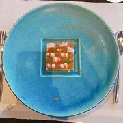 星のや竹富島  沖縄の食材と フレンチの統合