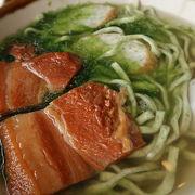 自家製麺の美味しい沖縄そば
