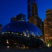 シカゴの中心に有る大きな公園