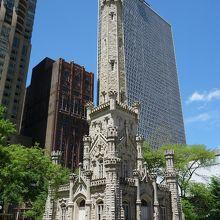 シカゴ ウォータータワー