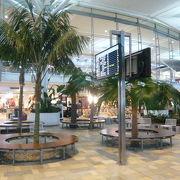ブリスベーン空港は、ブリスベーン川の北側にあり、モートン湾の傍にあるきれいな空港です。