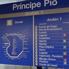 プリンシペ ピオ駅