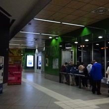 エリプティカ広場バスターミナル