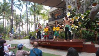 ロイヤル ハワイアン センター フラショー