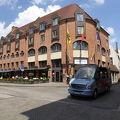 Burg Square(ブルグ広場)に面した、ブルージュの観光に便利なホテルです。