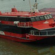 マカオへのちょっとした船旅