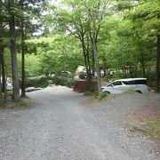 人気の大人のキャンプ場