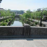 倉敷美観地区の中心・倉敷川にかかる橋
