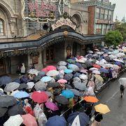 雨の日も人気