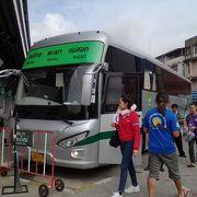 チェンライ→メーソートのバスに乗りました