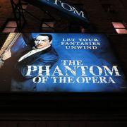 ブロードウェイで「オペラ座の怪人」を堪能