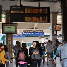 ラ スペツィア駅